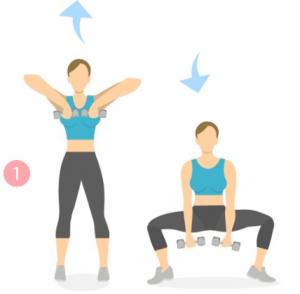 different squat exercises for women